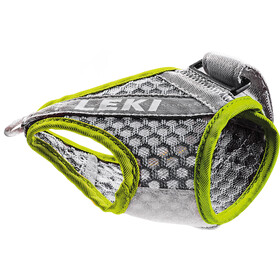LEKI Shark Frame Strap Mesh, grey/neon yellow